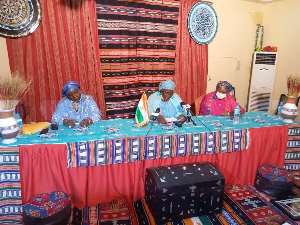 Cérémonie d'ouverture de la cinquième Assemblée Générale du Réseau des Femmes pour la Paix au Niger (REFEPA)