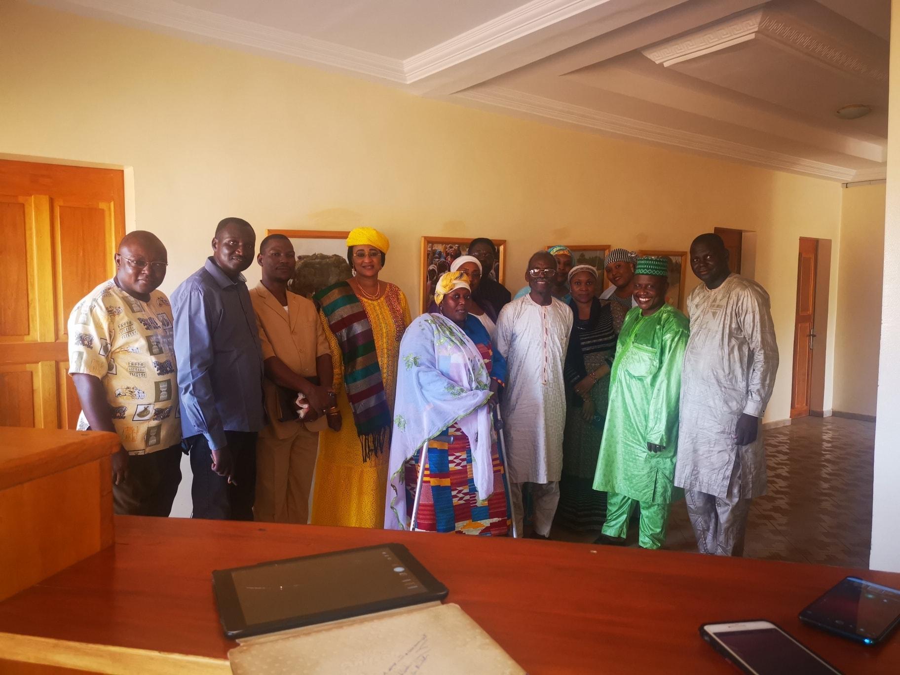 Rencontre avec le  Président de l'Alliance des Missions et Églises Évangéliques du Niger (AMEEN), le révérend Yacouba Souley