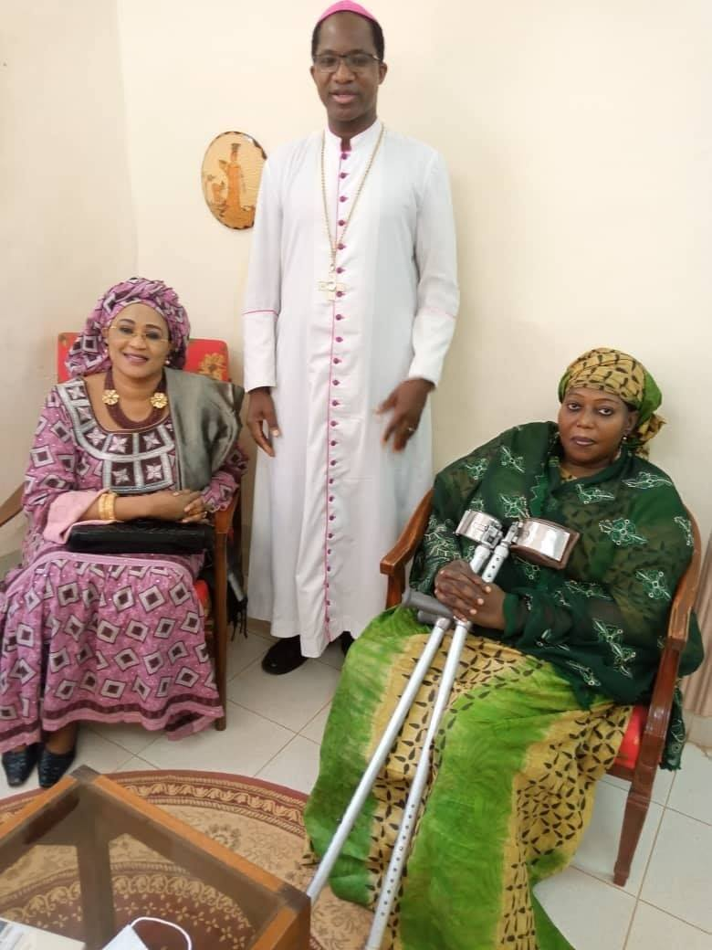 Rencontre avec son Excellence Monseigneur Laurent Lompo Archevêque métropolitain de Niamey.