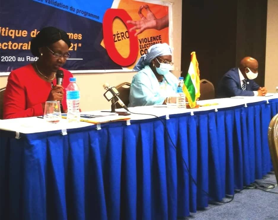 """Atelier de validation du programme : """"Participation politique des femmes au processus électoral 2020-2021"""